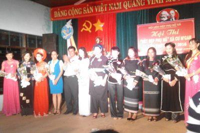Hội thi: Nét đẹp phụ nữ xã Cưmgar 20-10-2017